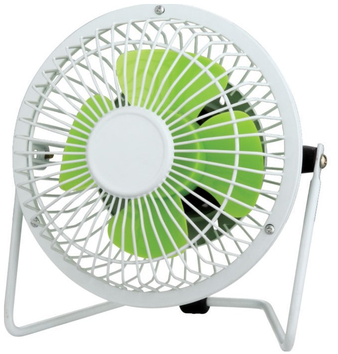 "4"" Mini Desk Fan-4"" Mini Desk Fan 4A1-Green"