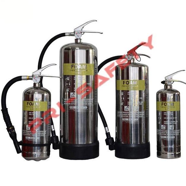 Stainless-Steel Foam Fire Extinguisher