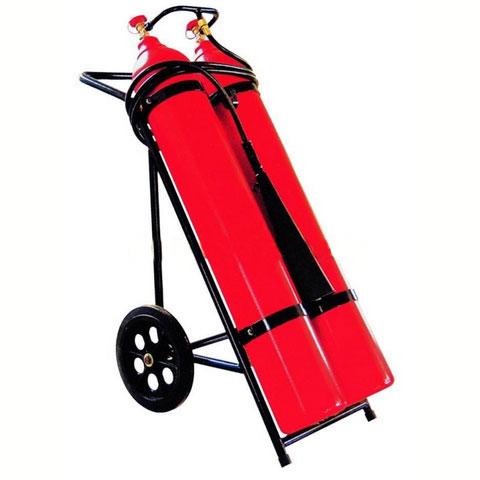 Co2 Wheeled Fire Extinguisher
