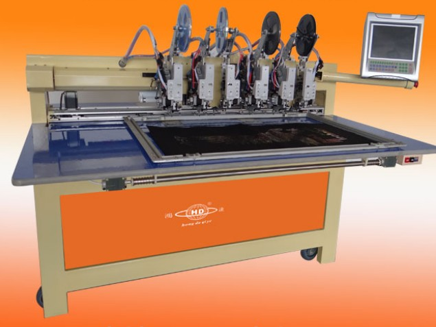HD-TZ200403 Automatic Beads Motif Machine