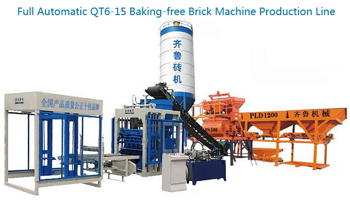 QT6-15 Block Machine Production Line