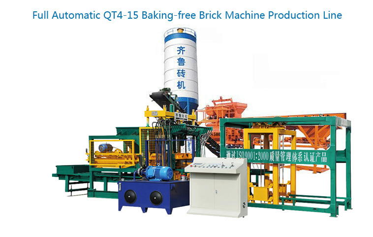 QT4-15 Block Machine Production Line