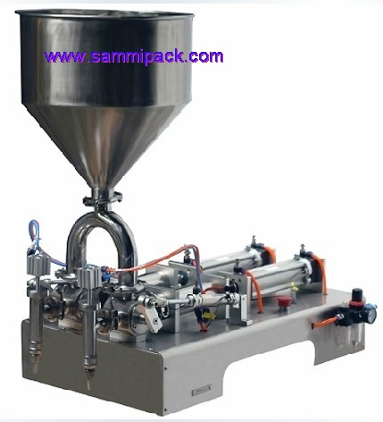 Double heads cream filling machine